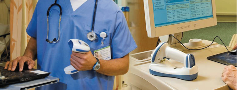 Trifour-healthcare-barcode scanner